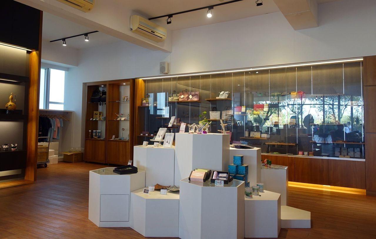 樹德科大「59咖啡文創館」賣的不只咖啡香,還有師生的創業夢。記者王昭月/攝影