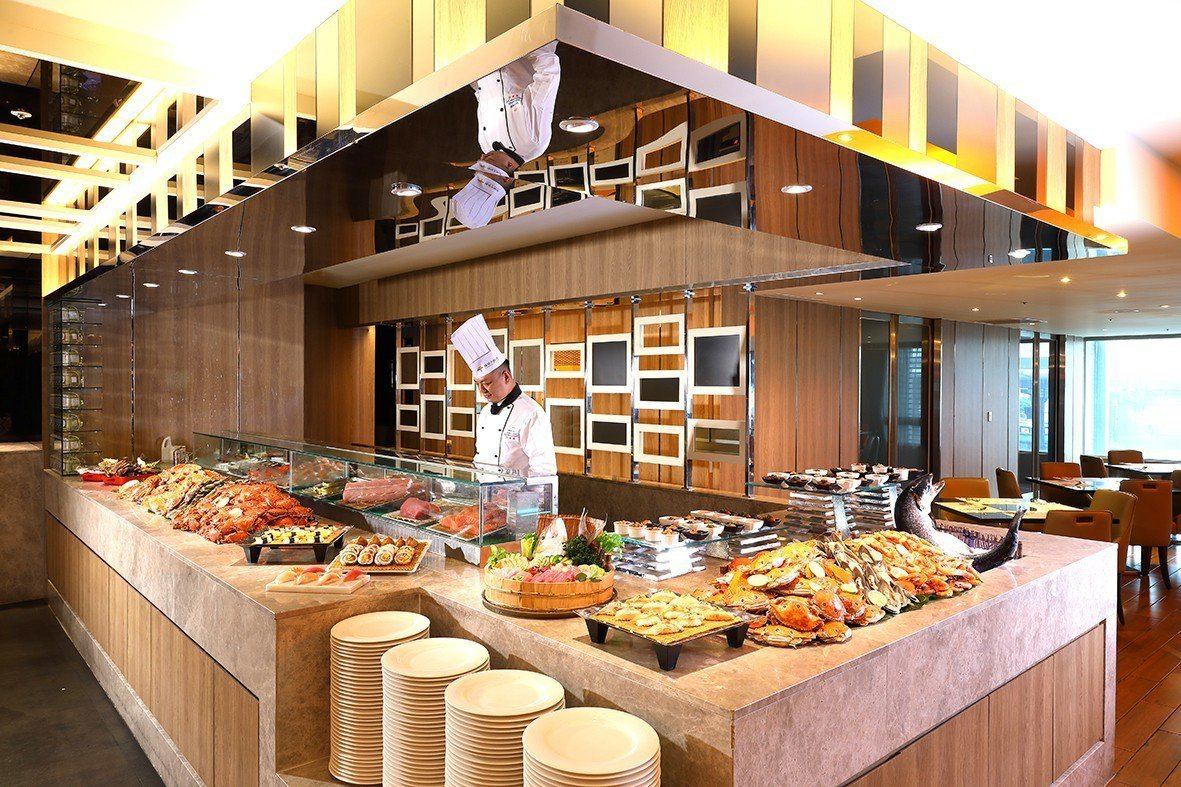 福容飯店線上旅展即日起到5月31日間為止,連鎖餐券買5張送1張。圖/福容飯店提供