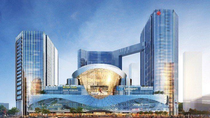 南港將有大型購物中心「Mitsui Shopping Park LaLaport...