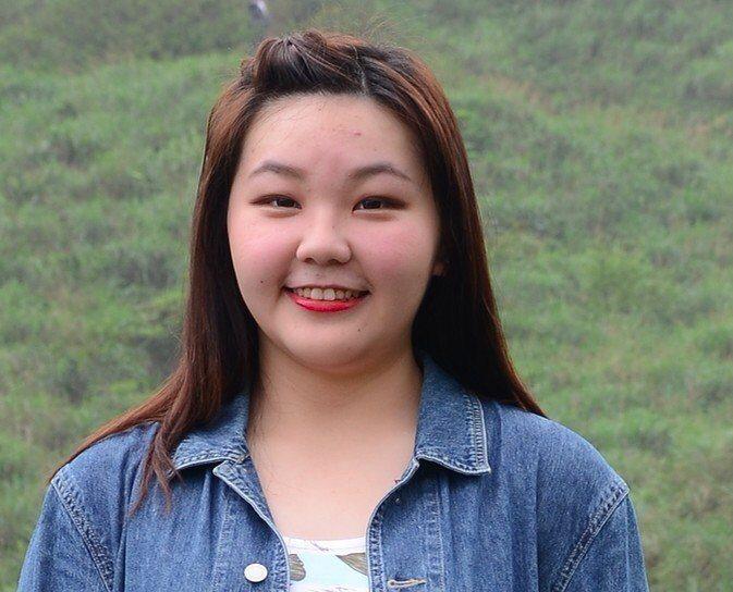 楊上昀是大號女孩。圖/意林有限公司提供