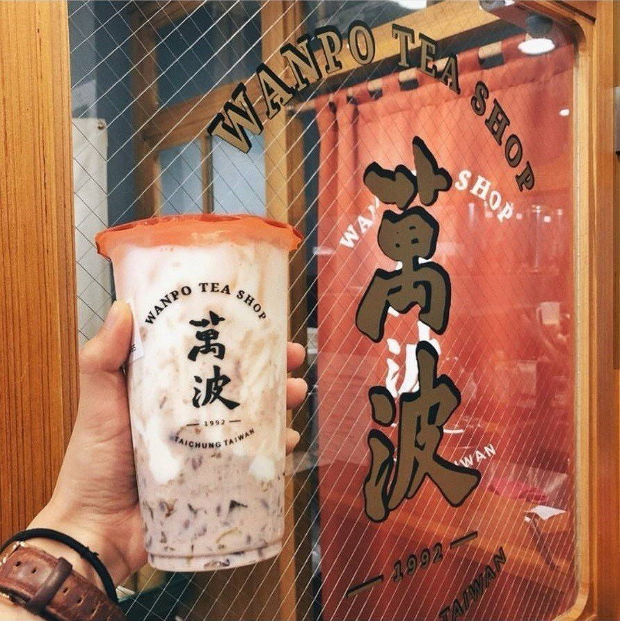 熱門的「紅豆粉粿鮮乳」IG滿滿打卡。IG @hh.daily提供