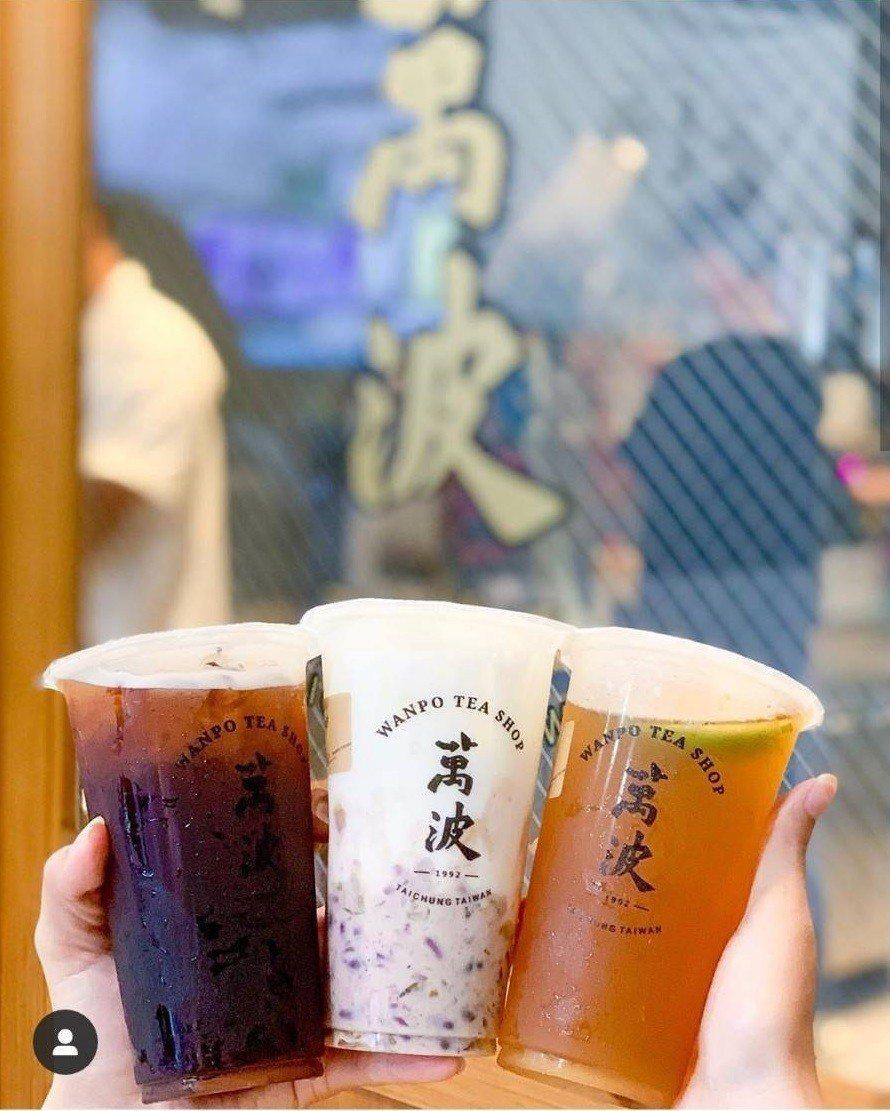 「萬波島嶼紅茶」是近日IG打卡熱店。IG @lele.eat提供