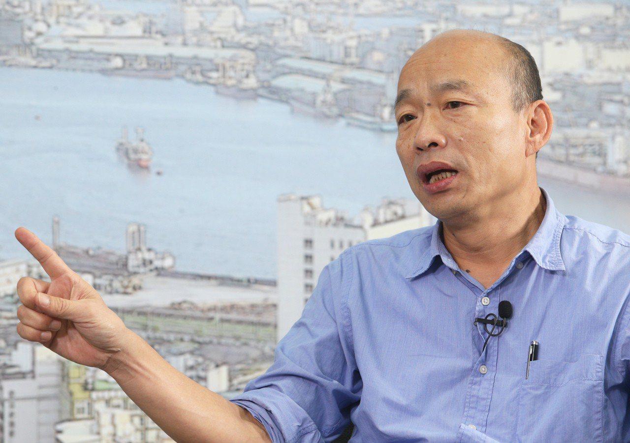 高市長韓國瑜昨接受本報專訪表示,中華民國非聯合國會員,一直被視為國際劣勢,但歐洲...