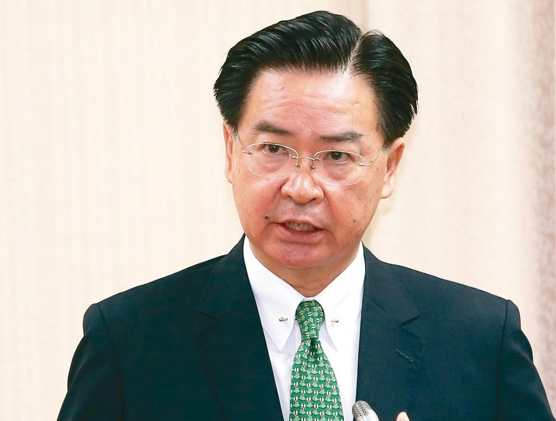 外交部長吳釗燮自認外交部並無疏失。 記者林澔一/攝影