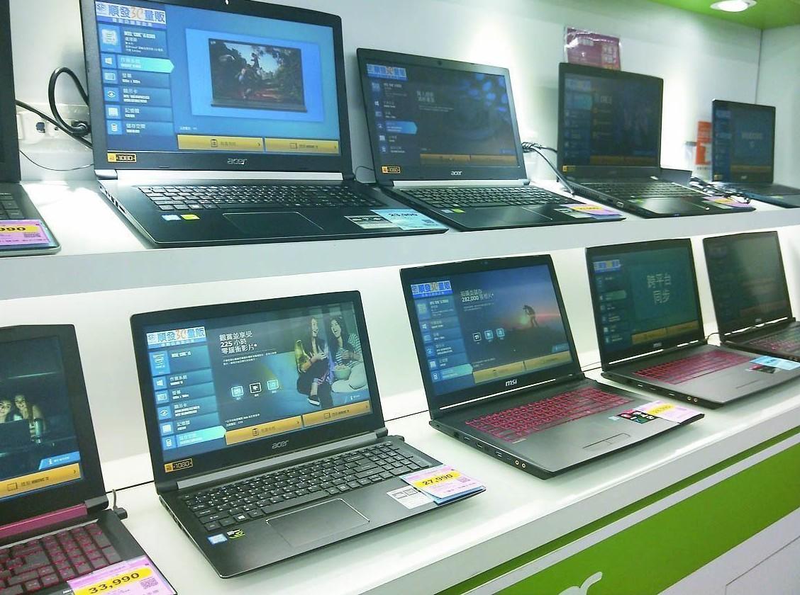經濟部表示,美中貿易衝突升溫,台商將生產線移回台灣,對於電腦電子產品及光學製品業...