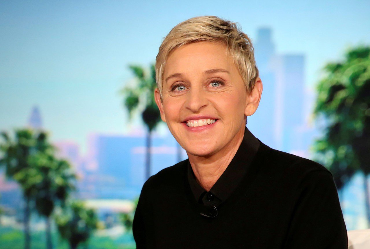 美國知名脫口秀「艾倫秀」主持人艾倫·狄珍妮。 路透