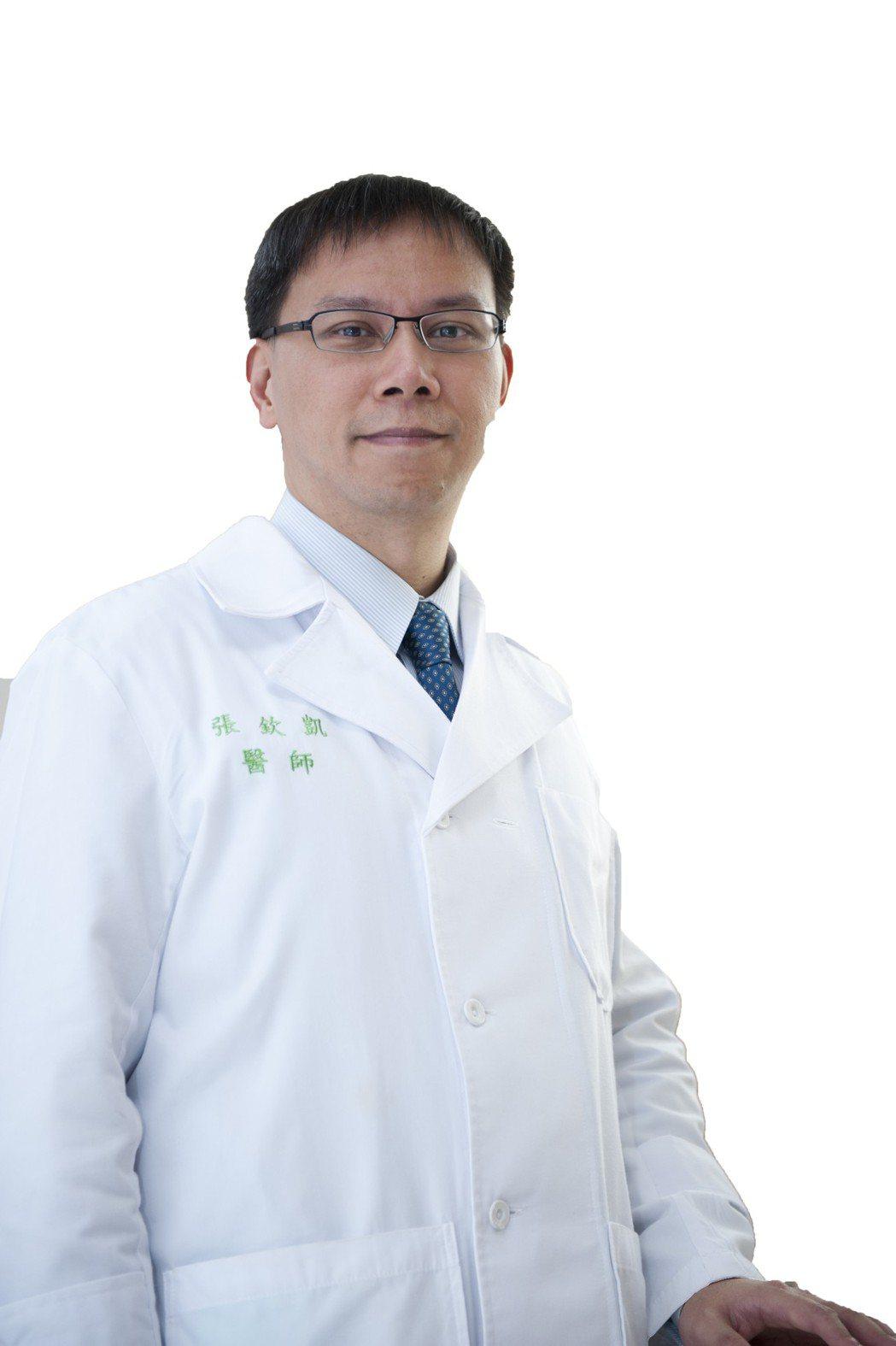 中國附醫復健部暨高齡醫學科主治醫師張欽凱。 張欽凱醫師/提供
