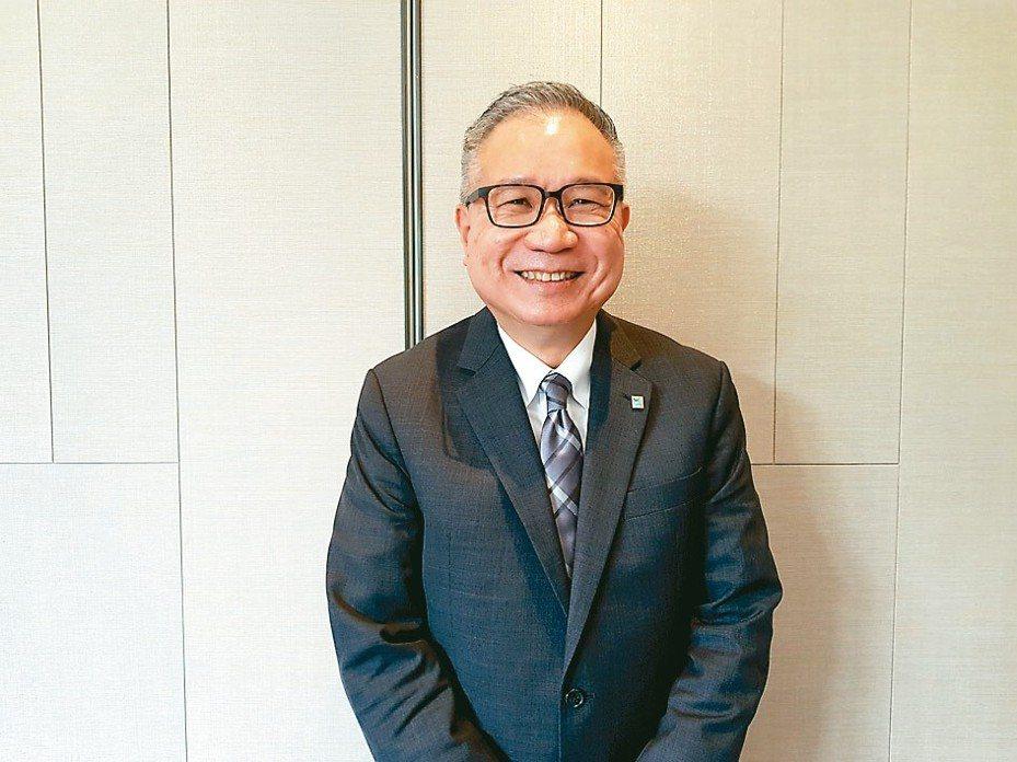台橡總經理蔡偉強 記者曾仁凱/攝影