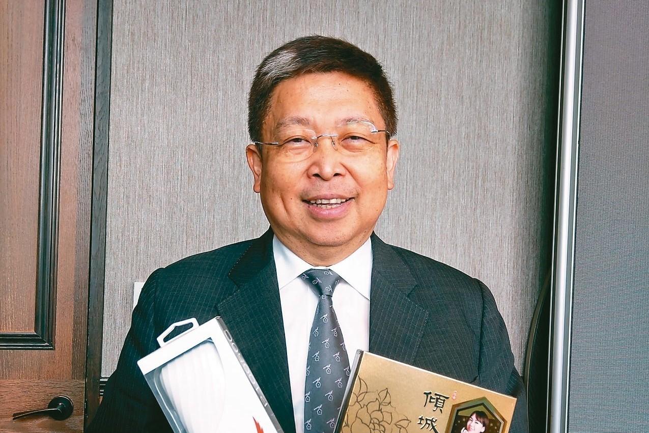 威剛董事長陳立白 記者鐘惠玲/攝影