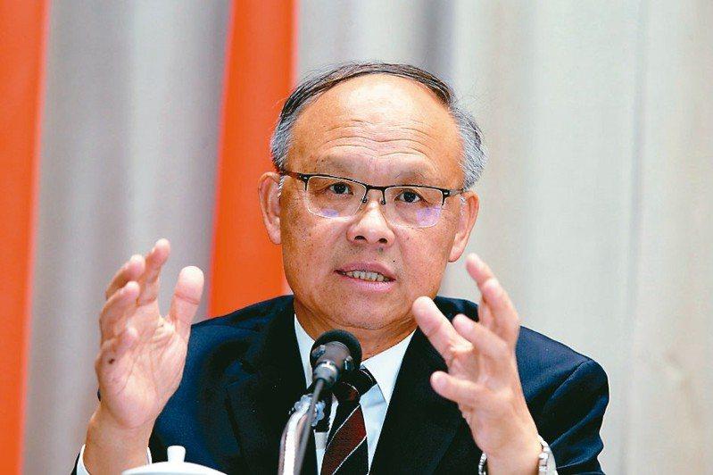 行政院政務委員鄧振中 記者邱德祥/攝影