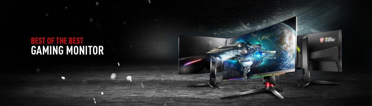微星於2018年踏入電競螢幕市場後,短短至2019年期間,於曲面電競市場中佔有一...