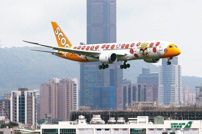 高雄市長韓國瑜認為現今小港機場有宵禁問題,且跑道長度不夠,運載量、使用量亦不足,...