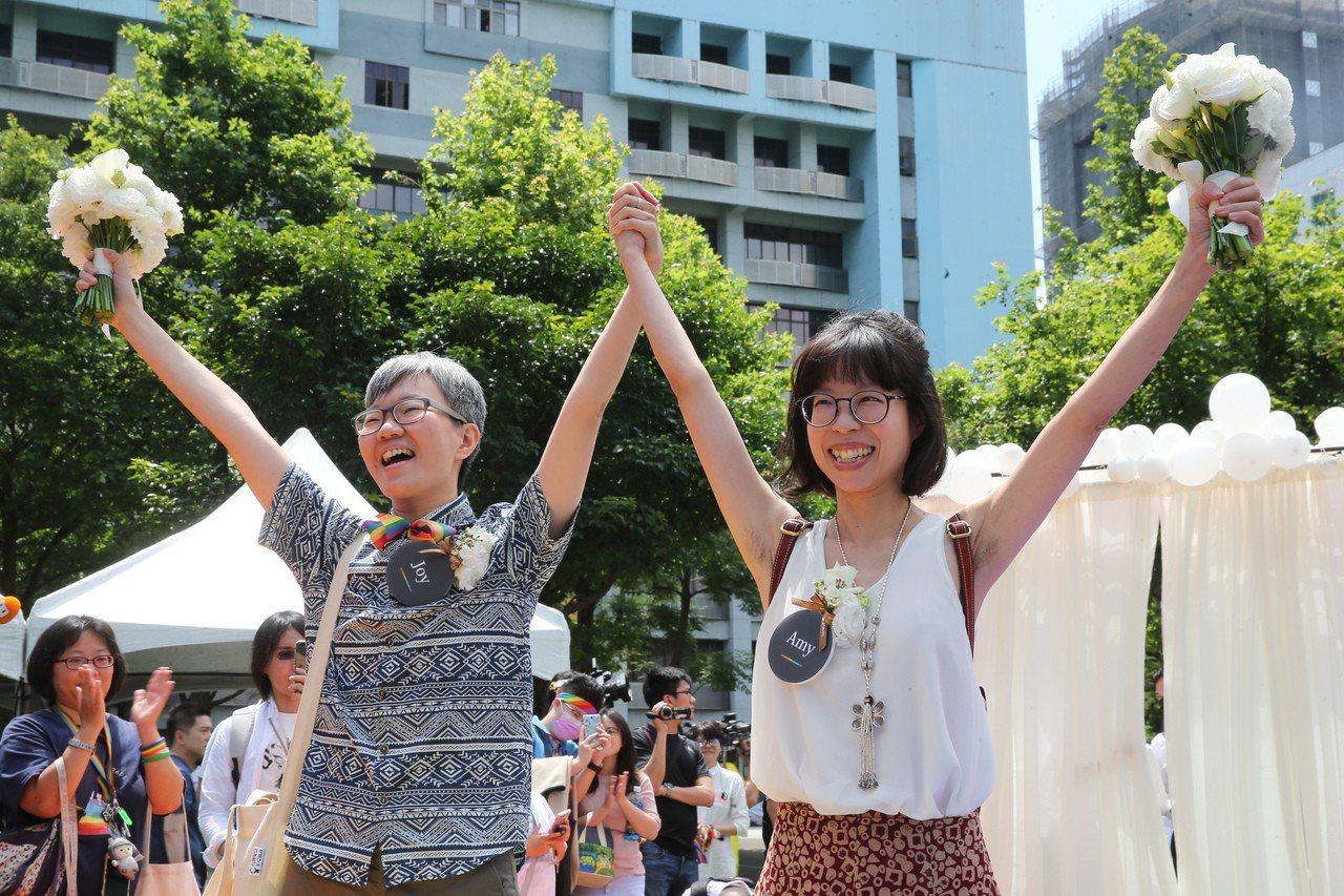 同婚體現台灣跟中國不一樣! 蔡英文回覆艾倫「愛最大」