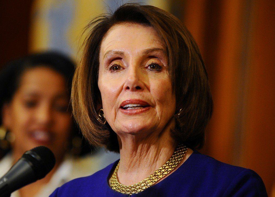 民主黨籍眾議院議長裴洛西(Nancy Pelosi) 。 路透社