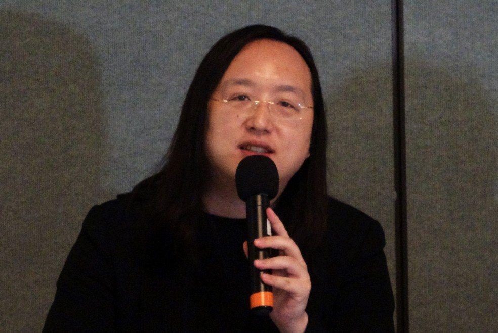 行政院政務委員唐鳳。 中央社