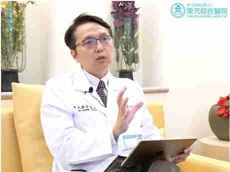 東元綜合醫院泌尿科主任黃賢祥醫師。 東元綜合醫院/提供