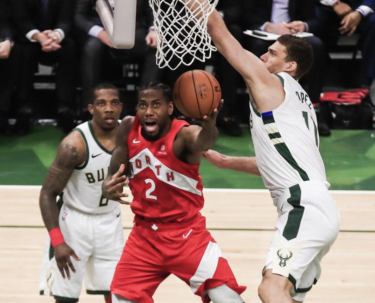 NBA/決賽前7場至少攻35分 雷納德驚人火力比肩傳奇