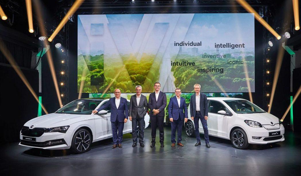 ŠKODA在2019年發表了品牌首款純電小車CITIGOe iV與插電式油電混合...