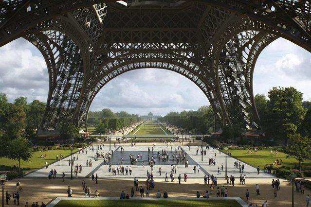 為了因應「2024巴黎奧運」以及環保政策,巴黎市政府重磅宣布,將改造艾菲爾鐵塔的...