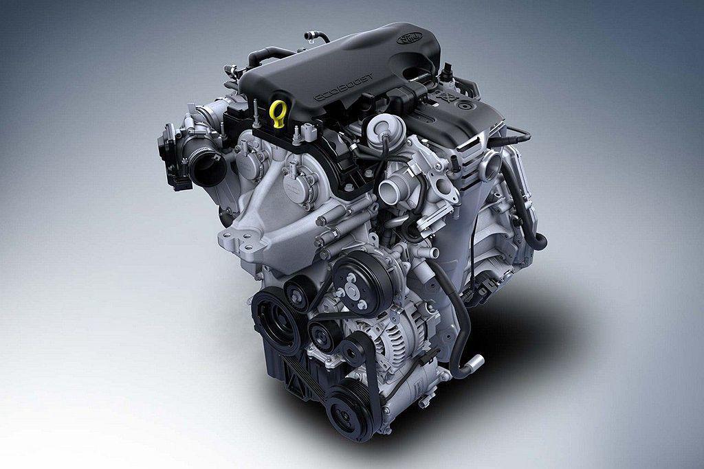 曾連續6年獲選1.0L排氣量級距最佳引擎的Ford 999c.c. EcoBoo...
