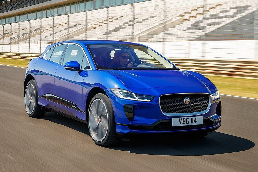 Jaguar I-Pace純電動跨界跑車。 圖/Jaguar提供