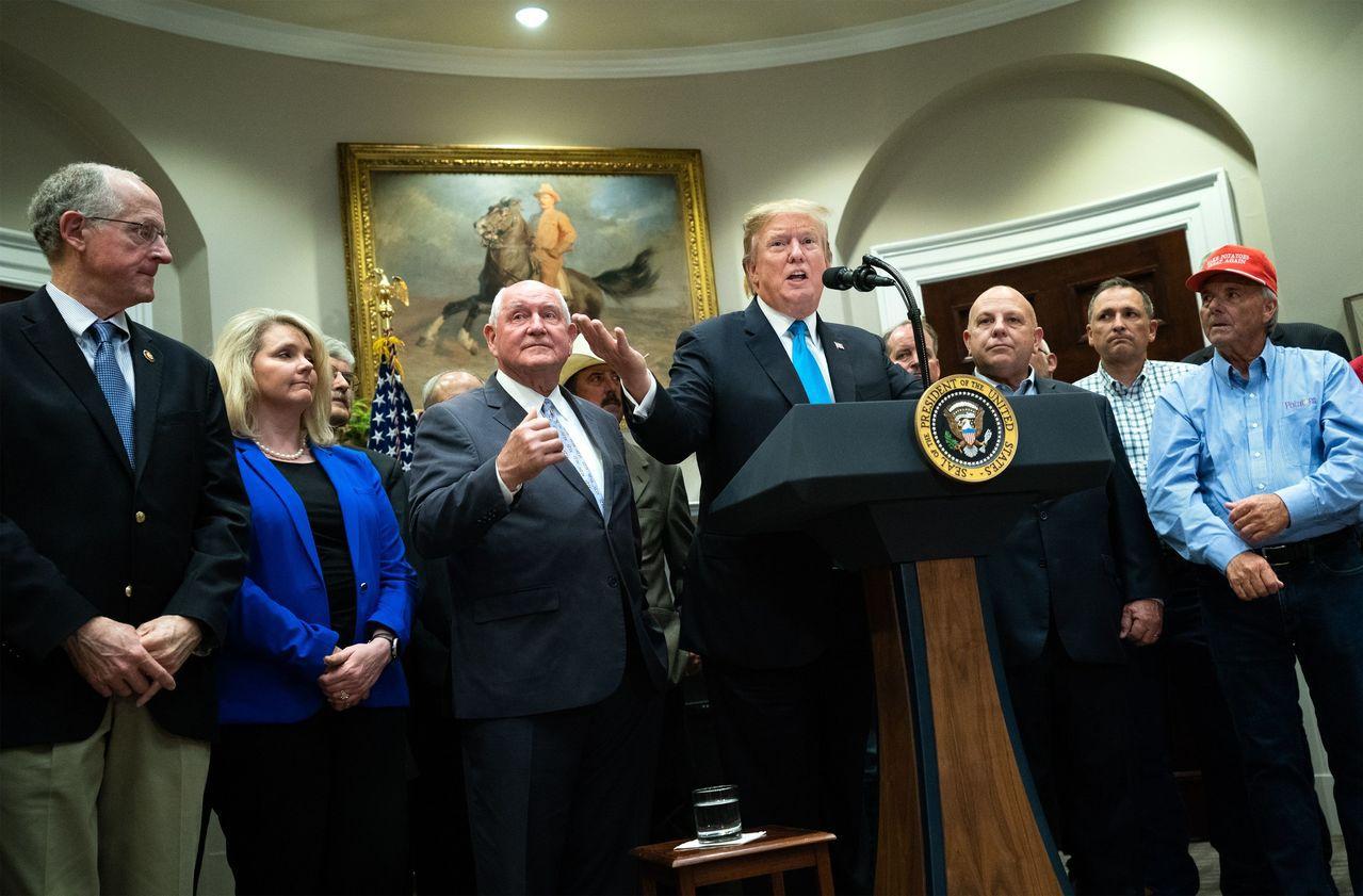 美國總統川普周四表示,華為可能納入美中兩國貿易協議的內容之一。歐新社
