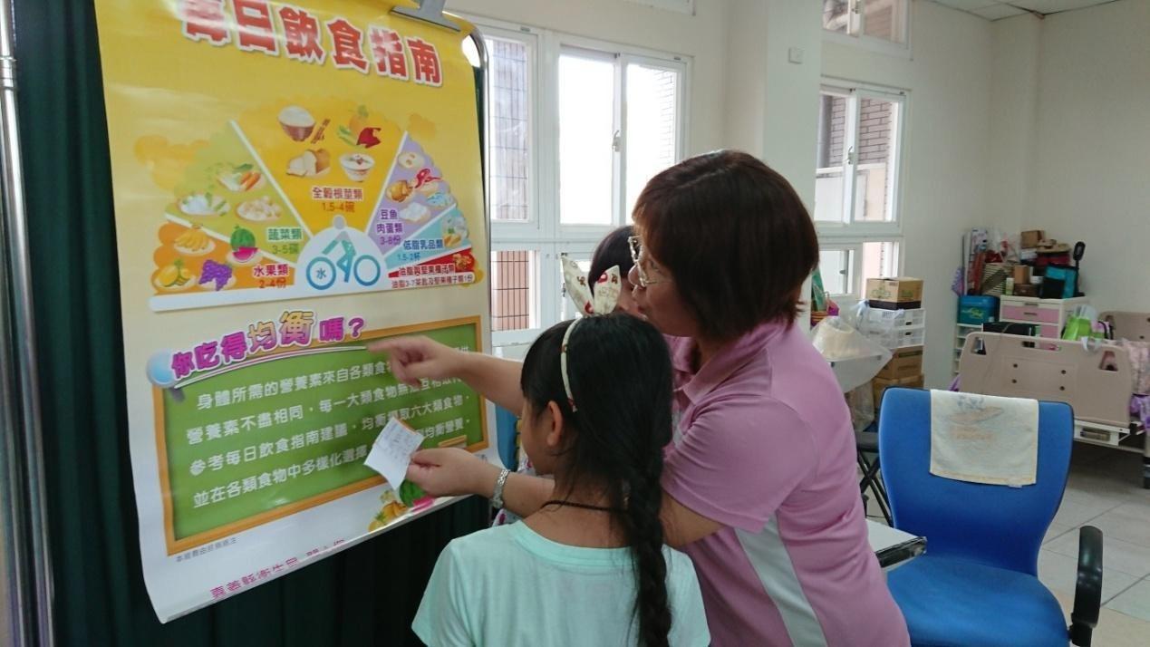 大林慈濟醫院和平林國小合作推廣健康早餐。圖/黃靖琇提供