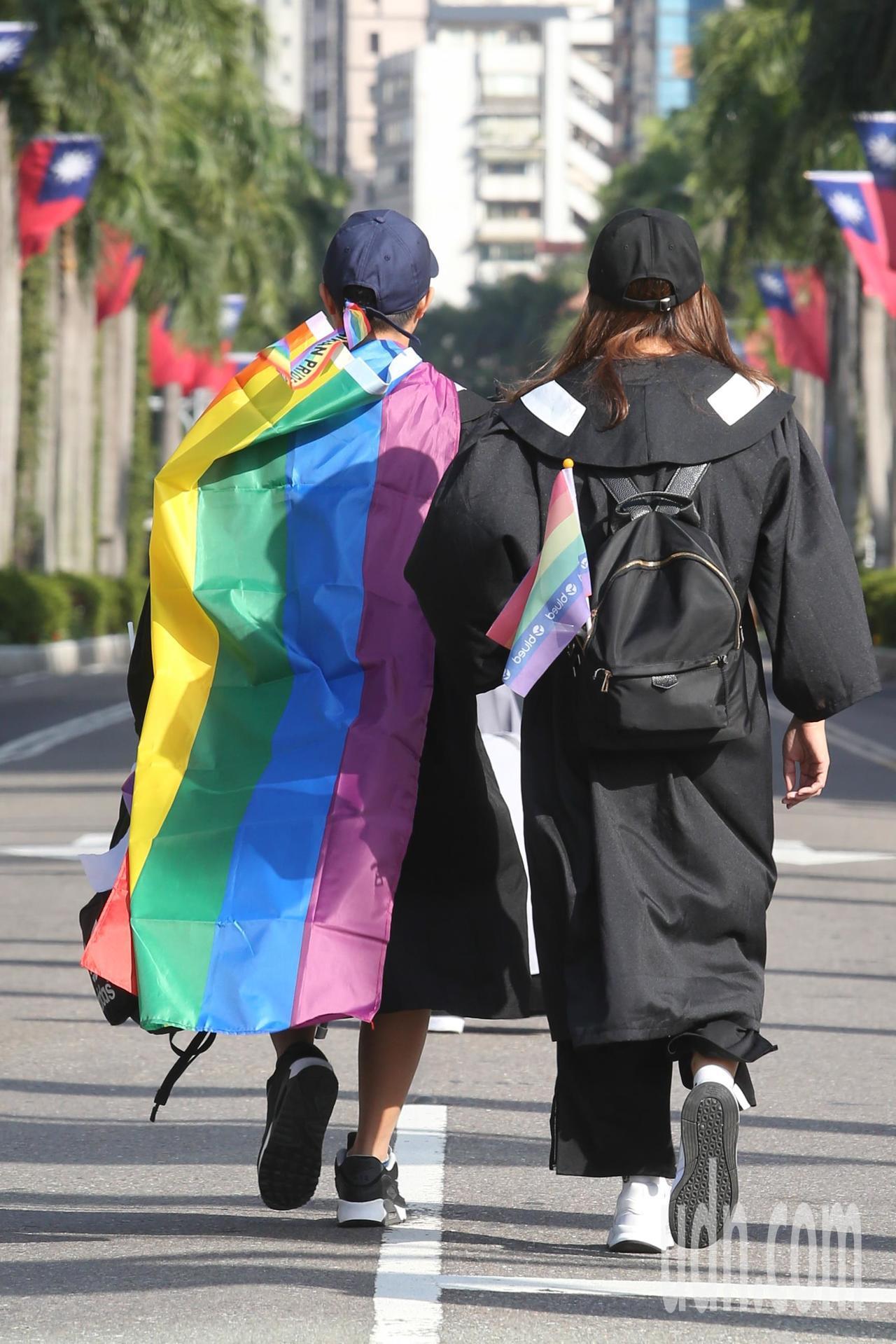 今天起同志可以在台灣登記結婚。本報資料照片