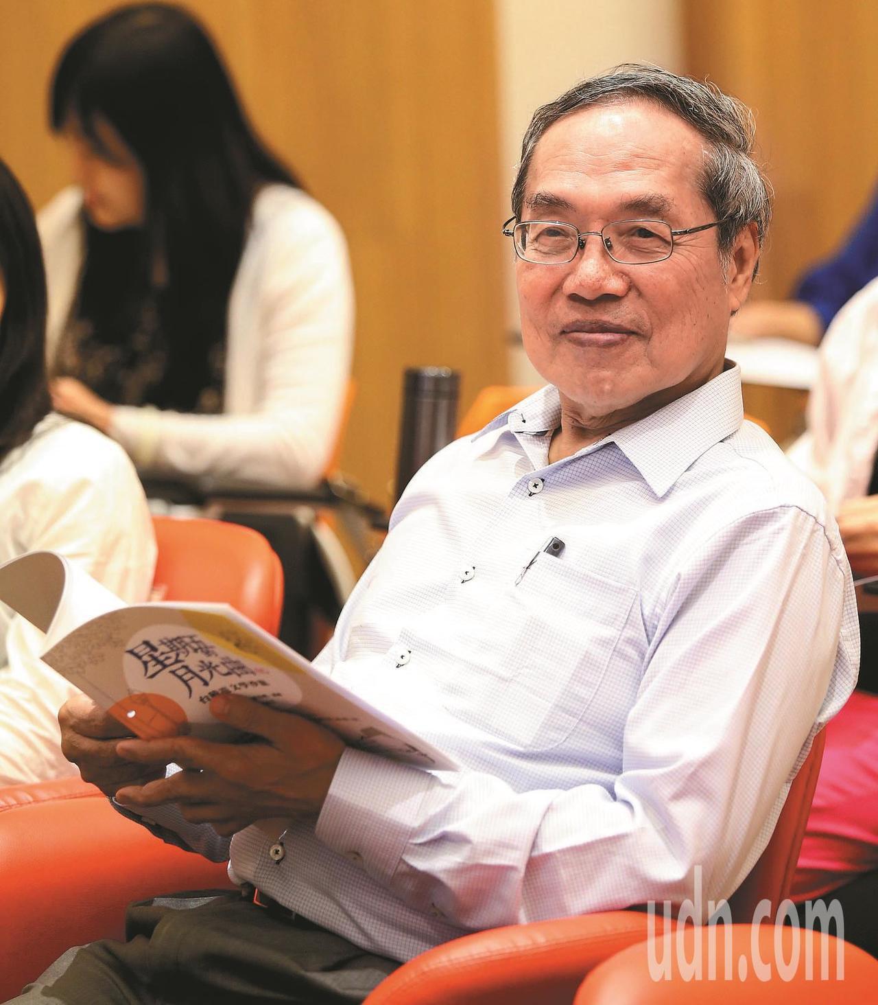 政大台文所教授、作家陳芳明。本報資料照片