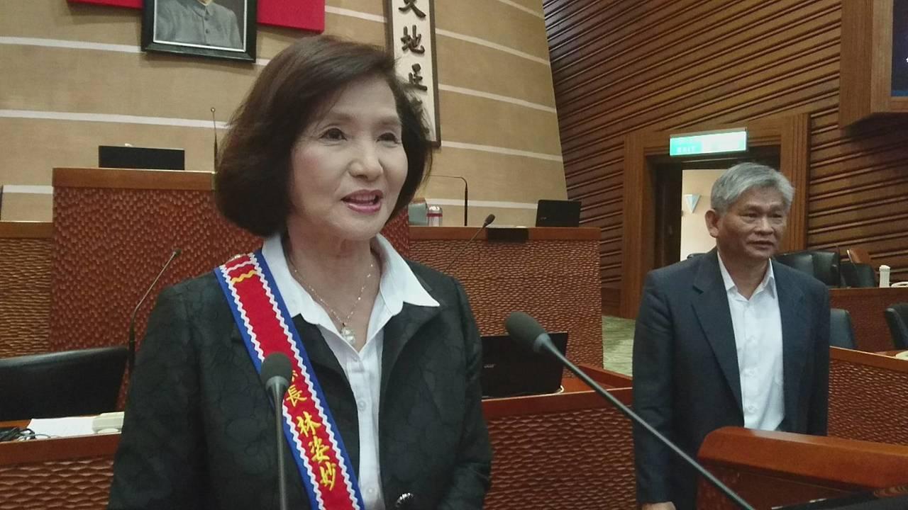 女議員要林姿妙多讀書 林:王永慶小學畢業事業做得好