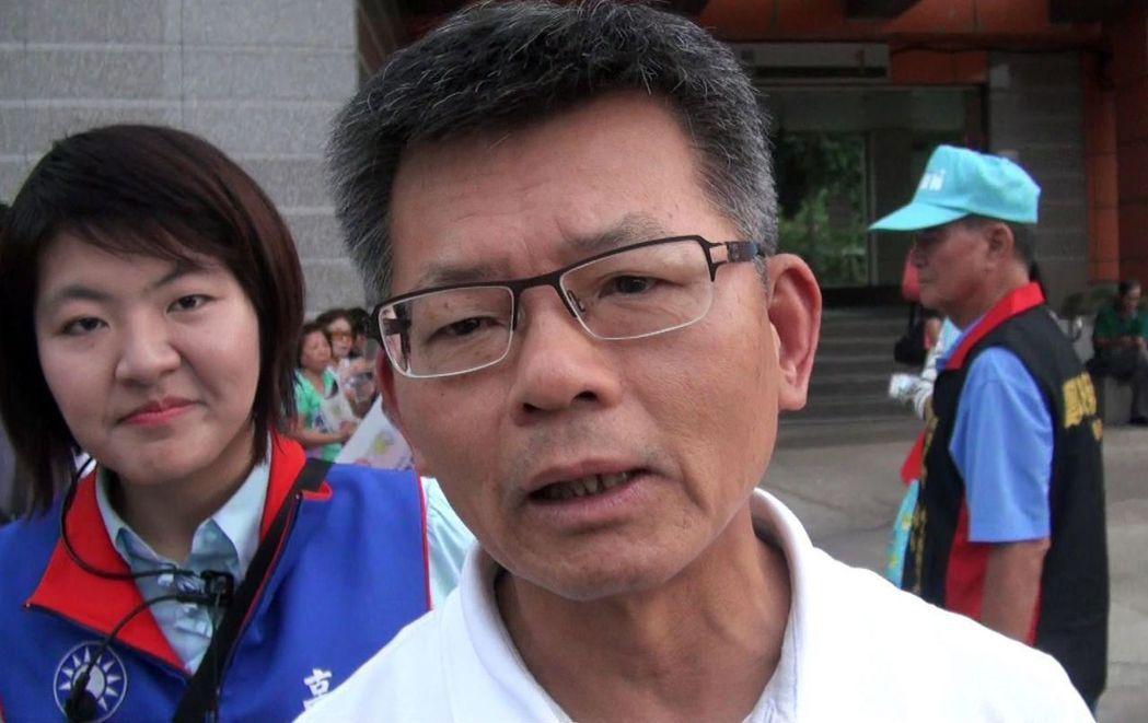 前高雄縣長楊秋興籲韓國瑜退出初選。報系資料照片