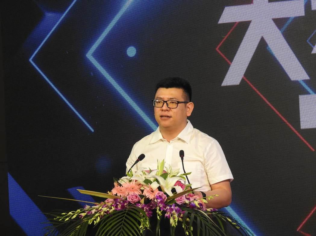 江蘇省電子競技運動協會副秘書長金榮耀。特派記者林宸誼/攝影