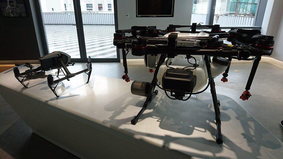 圖為大疆無人機產品。記者李仲維╱攝影