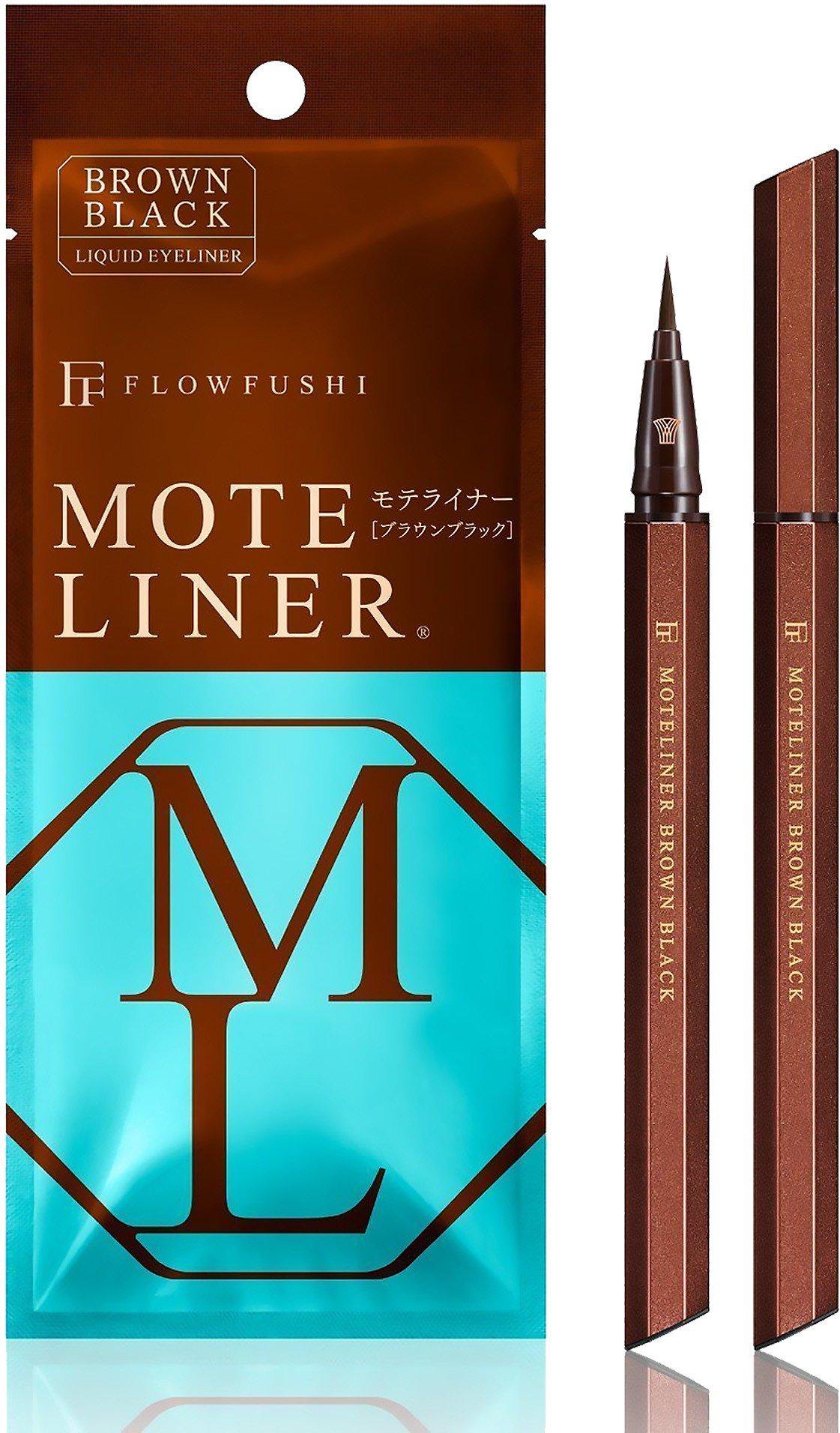 外國旅客最愛買彩妝類TOP 2:MOTELINER大和匠筆眼線液黑棕色,售價65...