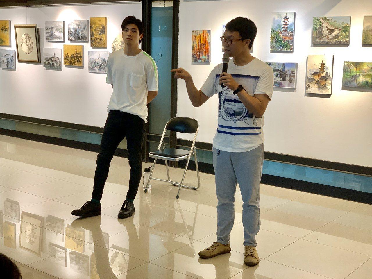 林哲熹是中一中美術班畢業生,他高中時不想考大學、高二曾想休學,最後還是參加學測考...