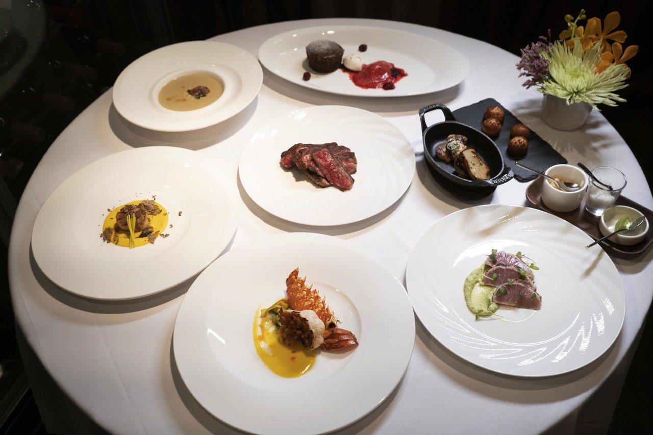 教父牛排特別為新光三越會員客製化「星廚饗宴」。圖/新光三越提供