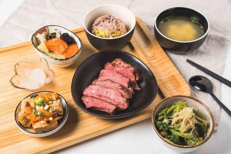 日式定食。圖/業者提供