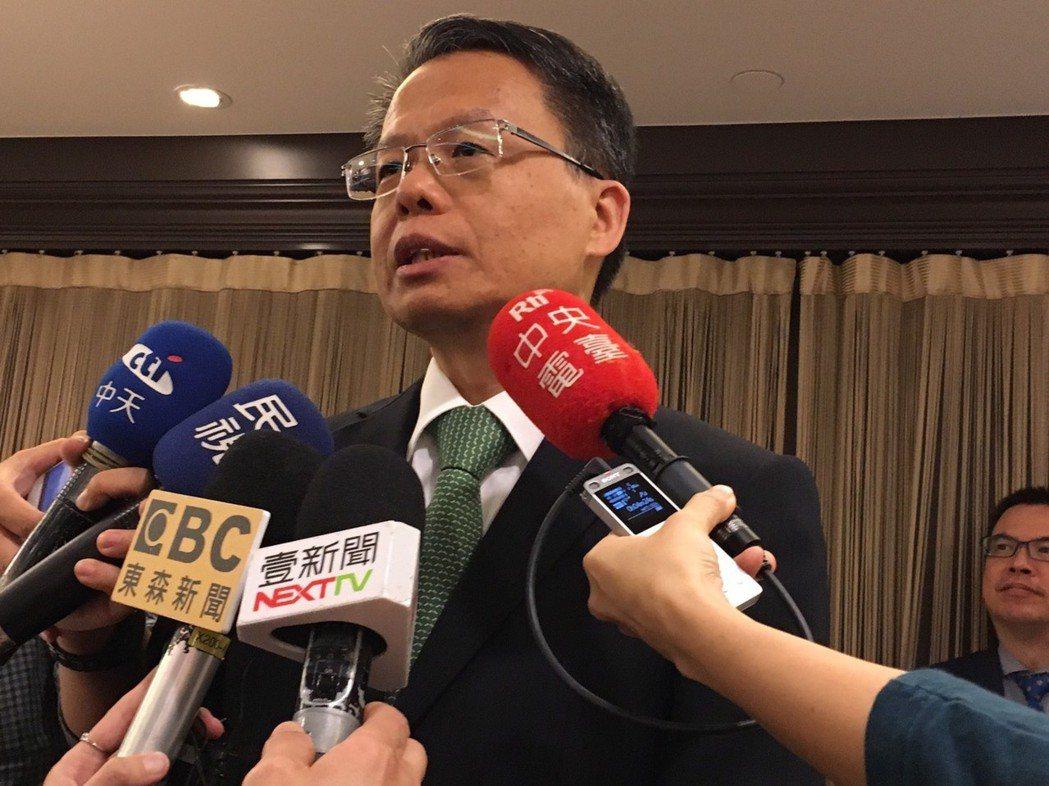 長榮航空總經理孫嘉明。記者吳姿賢/攝影