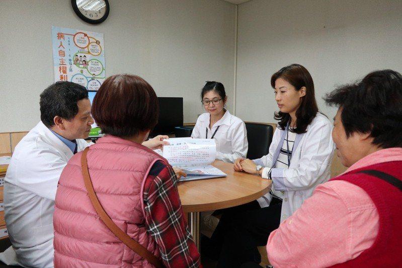 《病人自主權利法》108年1月6日正式施行,年滿20歲病人透過諮商,可立下「預立醫療決定書」。 圖/聯合報系資料照片