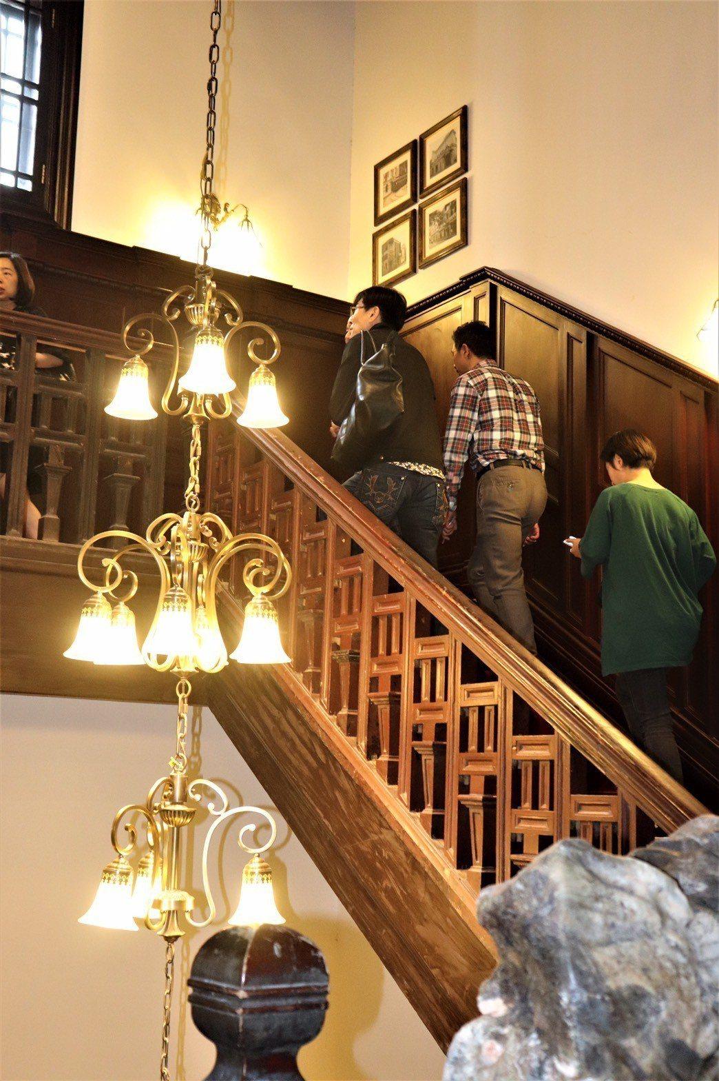 當年只有VVIP才能登上杜公館的二樓。 記者李莉珩╱攝影