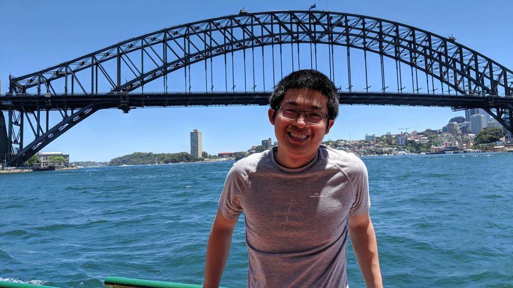 因為想在海外工作,對軟體工程師需求高的澳洲是鄒耀德的第一站。 照片提供/鄒耀德