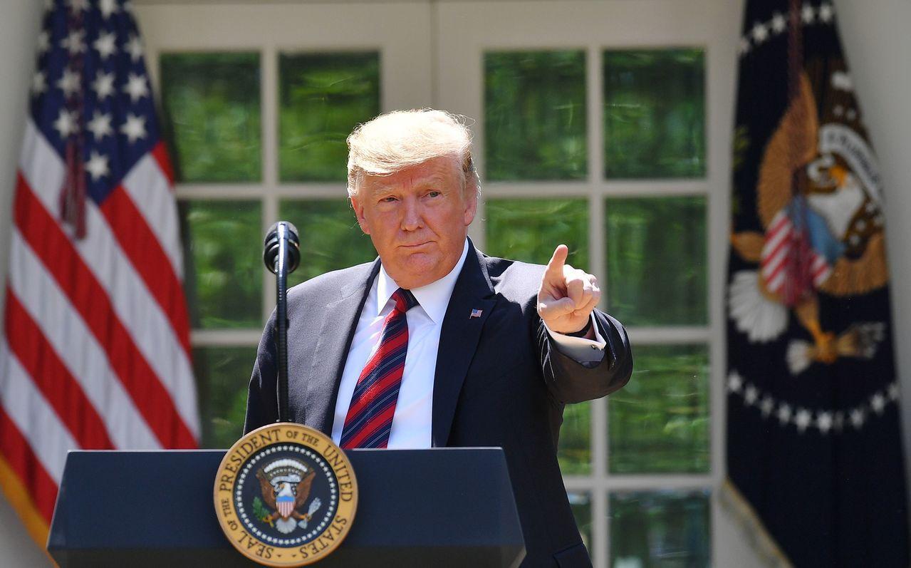 川普總統宣部增派1500名美軍至中東,以因應伊朗危機。 法新社