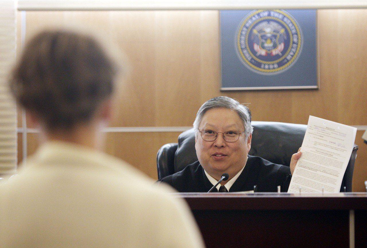 網路和法庭批評川普,猶他州華人法官遭停職半年。 美聯社