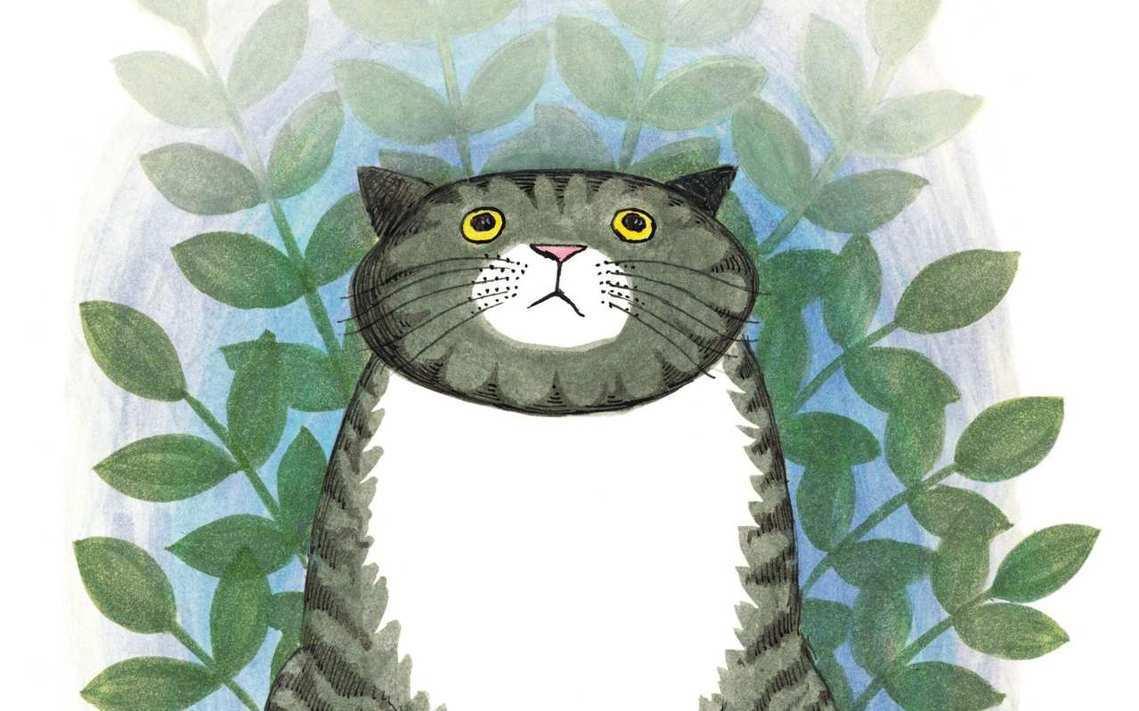 茱迪絲也才以家裡養貓的故事為藍本,推出了系列繪本作品《虎斑胖貓Mog貓》,記錄著...