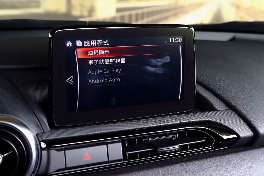 Mazda MX-5 MT也配有Apple CarPlay與Android Au...