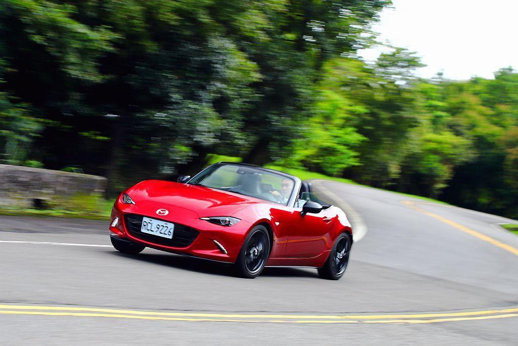 Mazda MX-5全球最賣座的敞篷跑車。 記者張振群/攝影