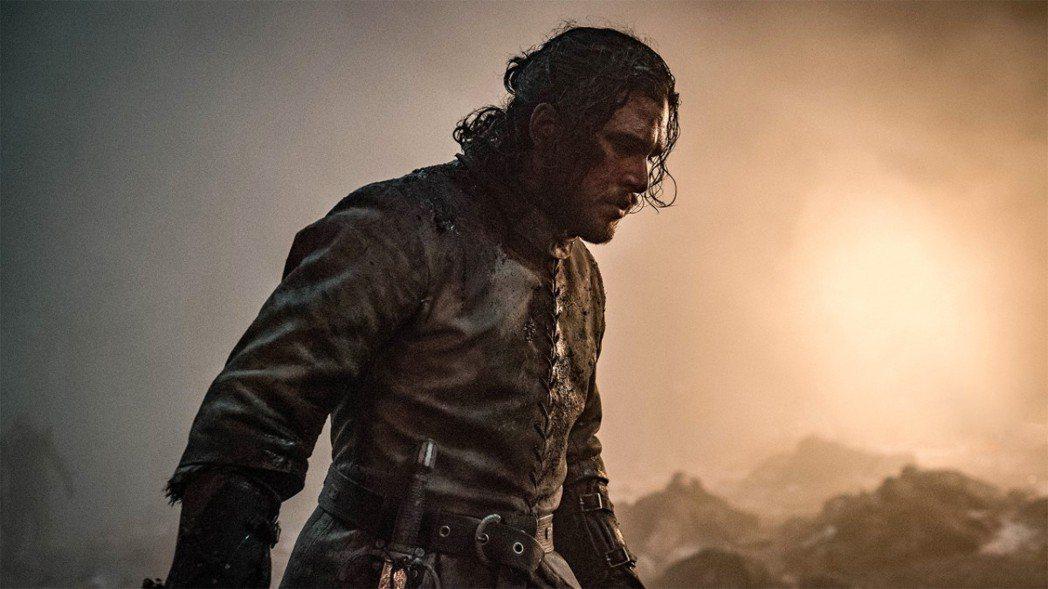 《冰與火之歌:權力遊戲》最終季戰爭場面。圖/擷自HBO官網