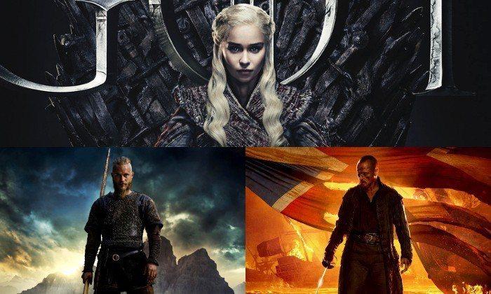 《冰與火之歌:權力遊戲》外,四部史詩影集推薦。圖/擷自HBO、History、S