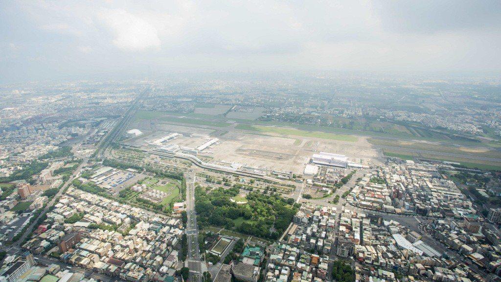 圖為高雄小港機場。圖/高雄市都發局提供