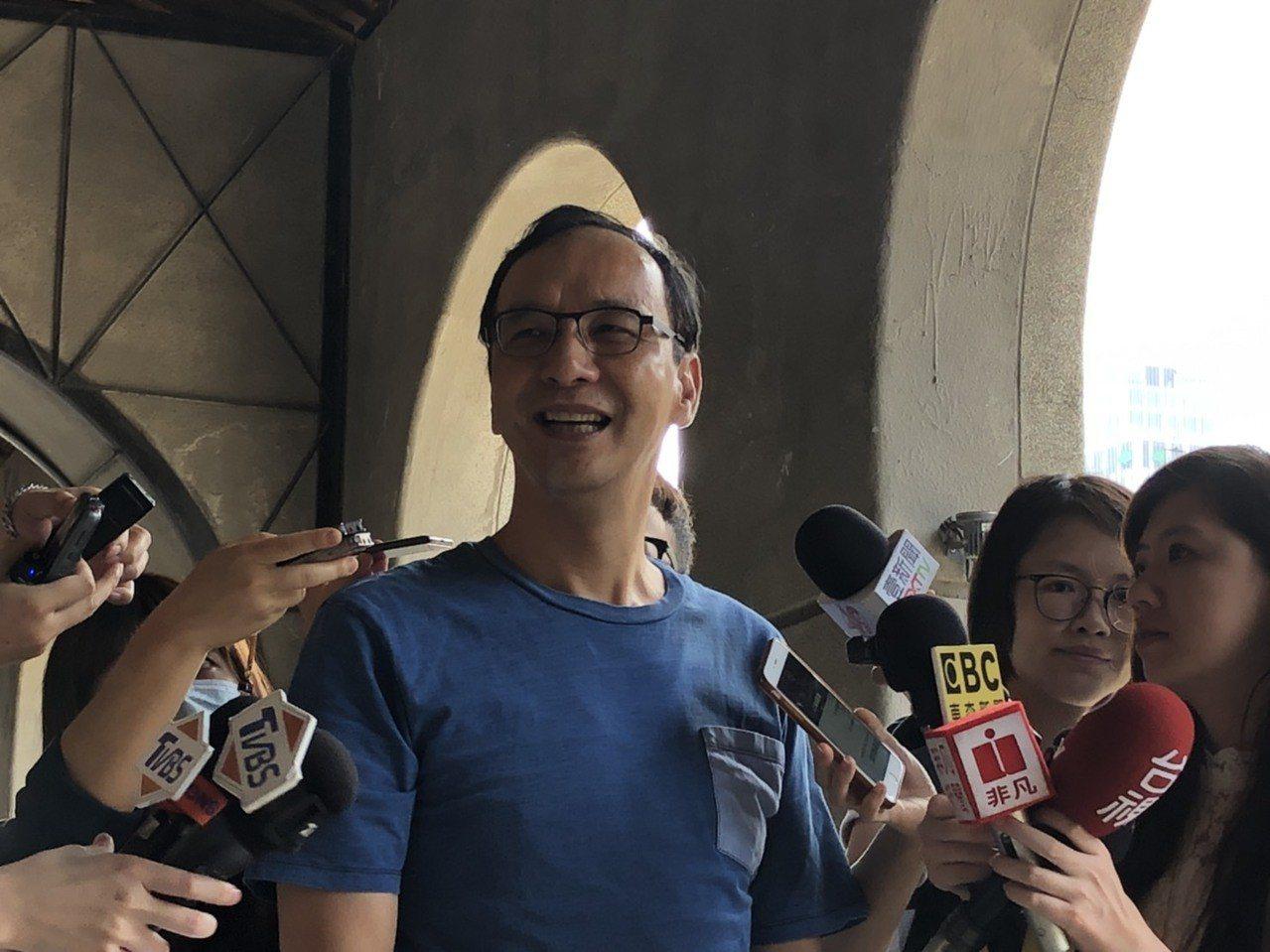 新北市前市長朱立倫。記者張文馨/攝影